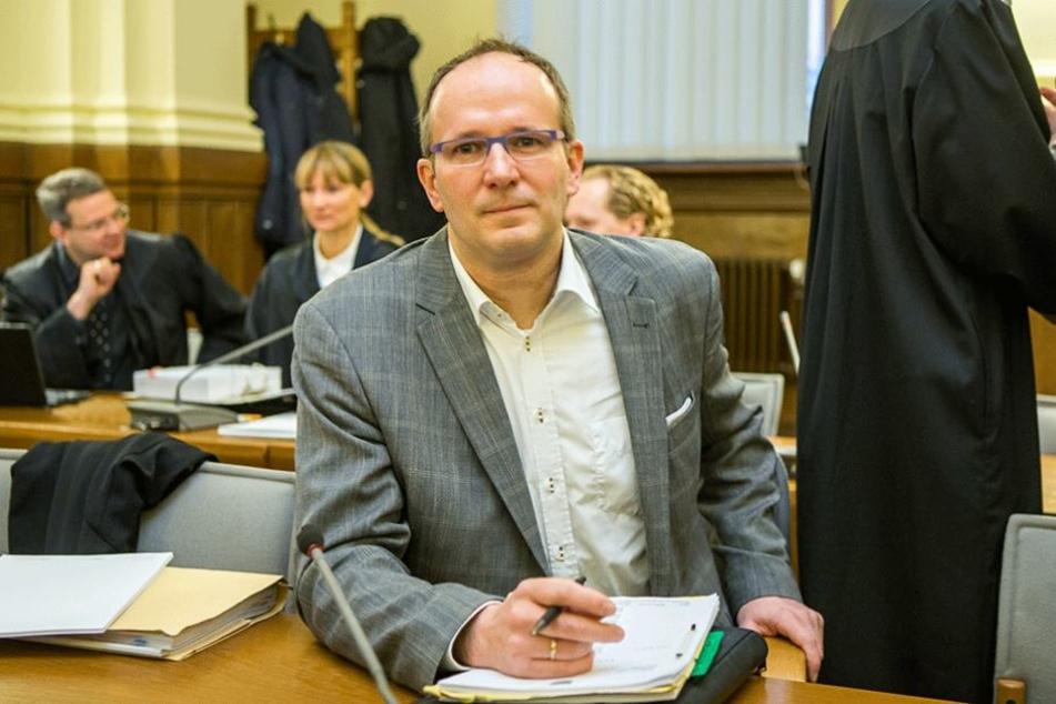 War Chef der Unister-Flugportale: Holger Friedrich (51) - angeklagt wegen Computerbetrugs, Betrugs, Steuerhinterziehung und Beihilfe zum Unerlaubten Betreiben von Versicherungsgeschäften.