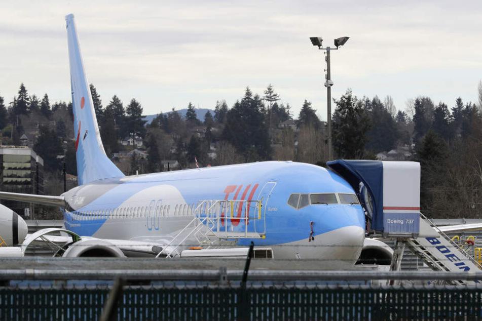 Ein Flugzeug vom Typ Boeing 737: Seit Dienstagabend sind diese Flugzeuge im europäischen Flugraum verboten. (Archivbild)