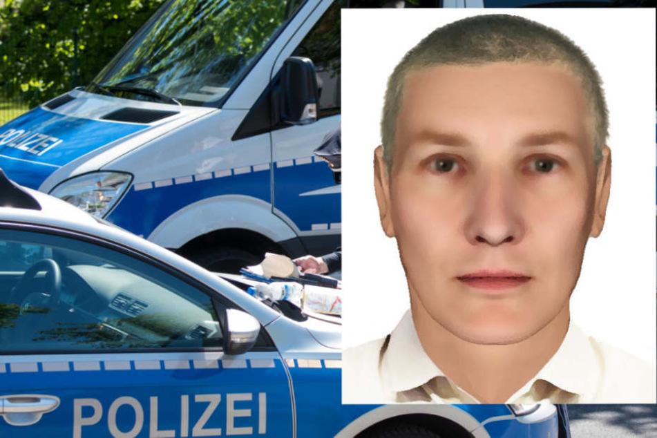 Mit diesem Bild fahndet die Polizei Rüsselsheim nach dem falschen Bankmitarbeiter.