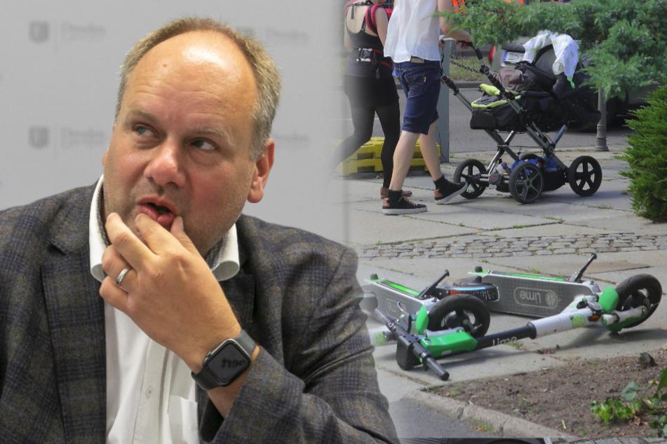 E-Roller-Ärger: Stadträte wollen Abstell-Chaos Ende bereiten