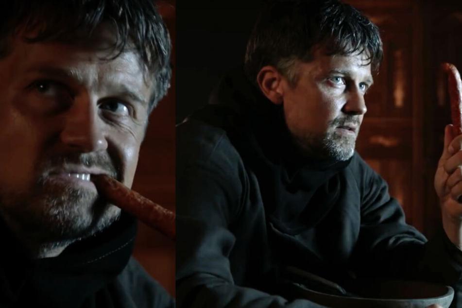 """Wayne Carpendale spielt bei einer """"Game of Thrones""""-Parodie bei """"Neo Magazin Royale"""" mit."""