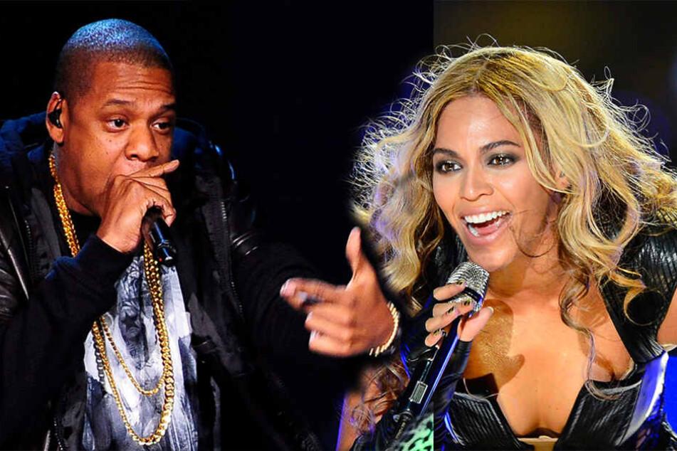 Haben gemeinsam hunderte Millionen CDs verkauft: Jay-Z und Beyoncé.