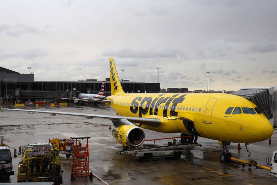 Spirit Airlines musste sich im Netz viel Spott anhören.
