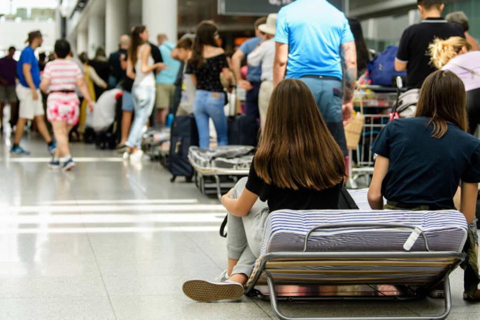 München: Orkantief Sabine in München: Viele Ausfälle und Verspätungen am Flughafen