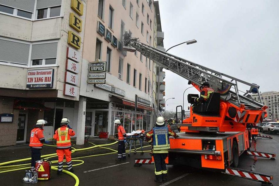 Tote und Verletzte: Dramatische Szenen bei Brand in Saarbrücker Innenstadt