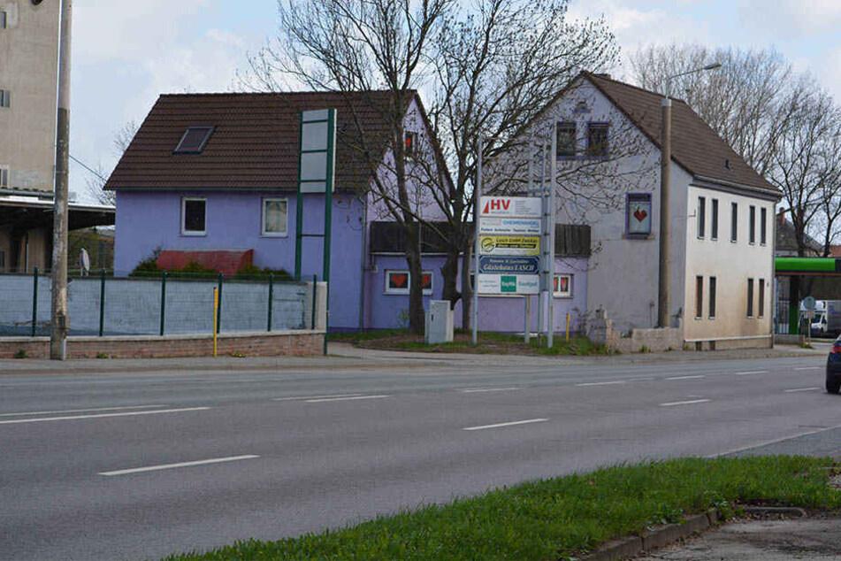 """Pierre R. (30) brach in das Bordell """"Violetta"""" in Zwickau ein."""