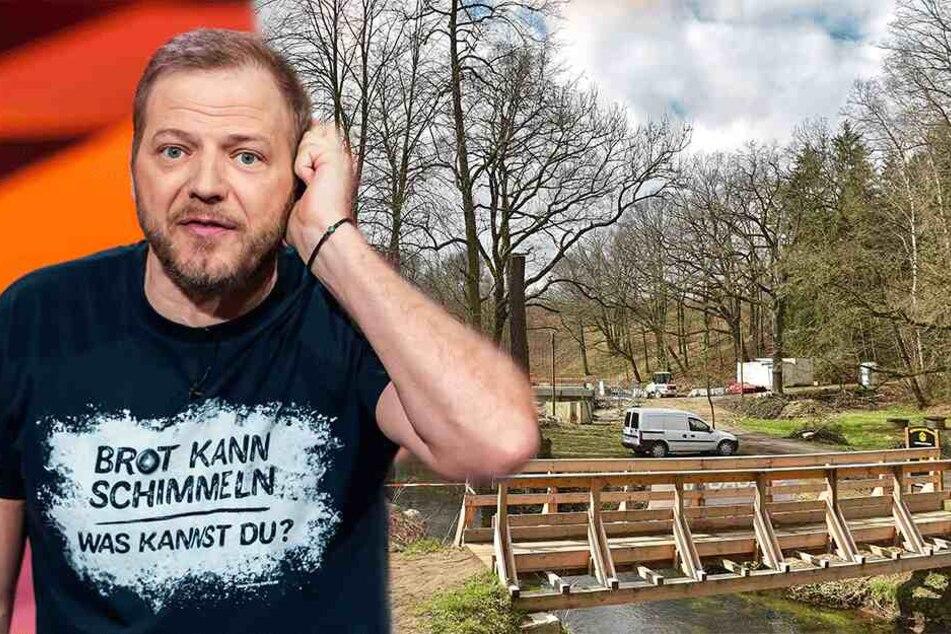 Bei RTL: Mario Barth knöpft sich heute Radebergs Geisterbrücke vor