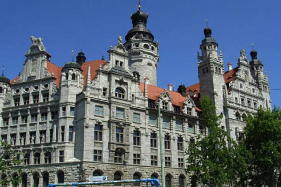 Im Leipziger Rathaus sieht man den Zusteller-Beschwerden gelassen entgegen.