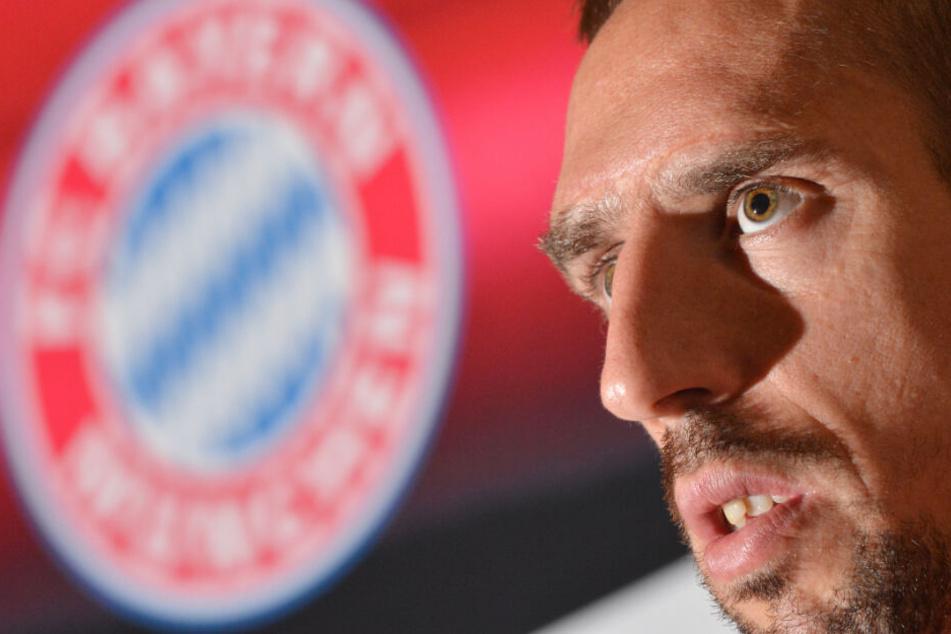 Franck Ribéry warnt den FC Bayern und rät zu Investitionen auf den Flügeln.