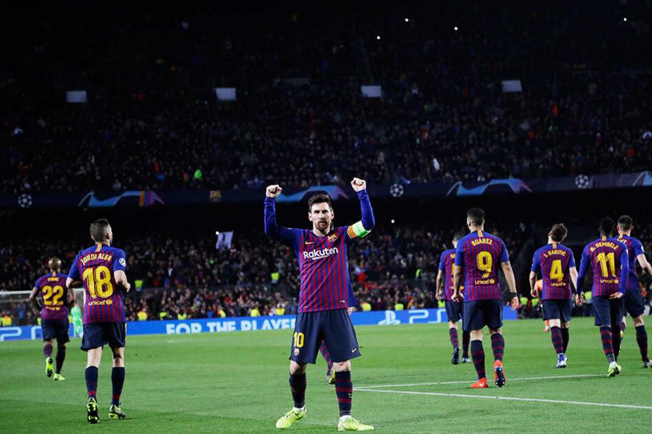 Kommt in dieser Saison auf 60 Torbeteiligungen in 37 Spielen: Lionel Messi.