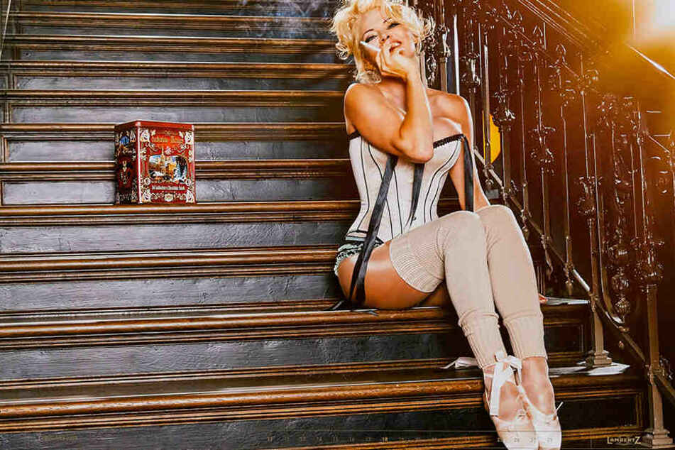 """""""Kalendergirl"""" Pamela Anderson."""