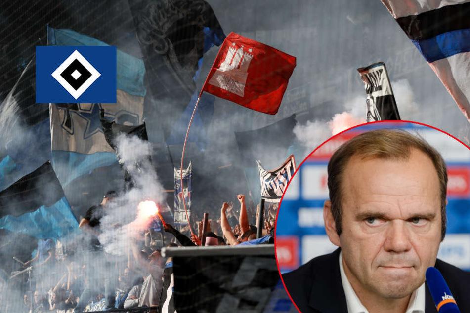 HSV-Boss Hoffmann verspricht kontrolliertes Abbrennen von Pyro noch in dieser Saison