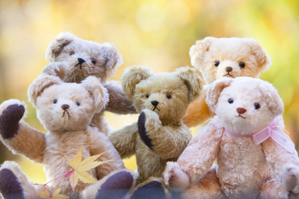 Die Diagonale bei einem Teddy ist länger als die Distanz von Kopf bis Fuß.