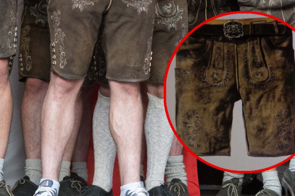 Achtung: Wer diese Lederhosen trägt, riskiert Ekzeme im Intimbereich!
