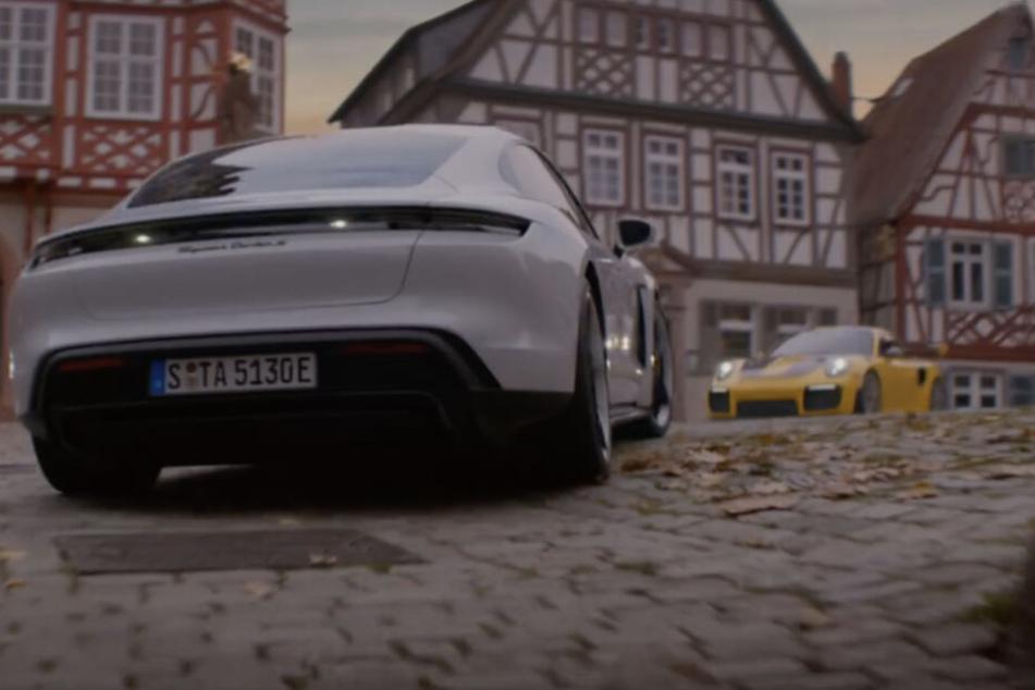 Deutsche Stadt beim Super Bowl ganz groß: Diese Porsche-Werbung begeistert Millionen!