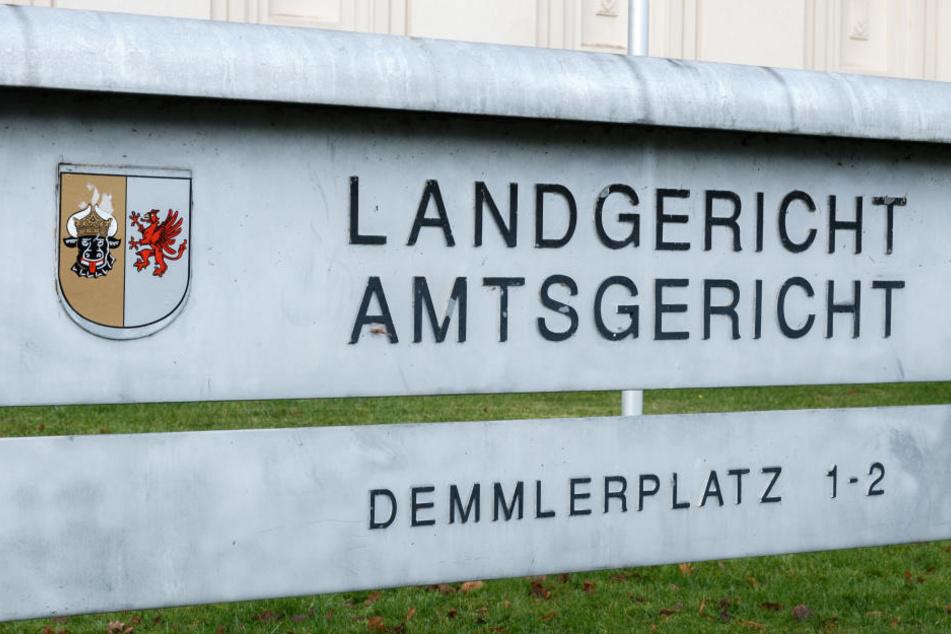Am Donnerstag hat der Prozess am Landgericht Schwerin begonnen.