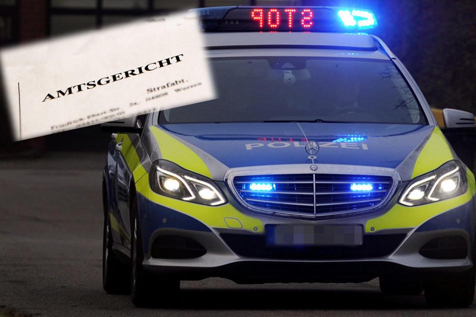 Der Autofahrer (23) konnte der Polizei nur eine Gerichtsvorladung als Nachweis vorlegen (Symbolbild).