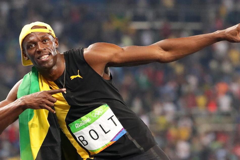 Sprint-Star Usain Bolt kommt für diese besondere Aktion nach Thüringen