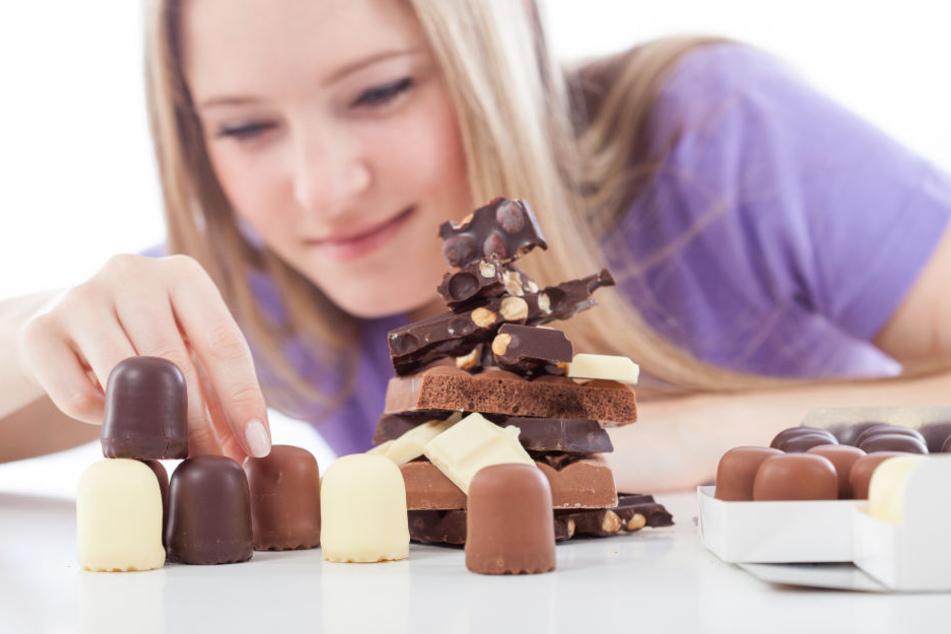 Süßes Verlangen: Bei einer Diät ist die Extraportion Schokolade nicht zielführend.