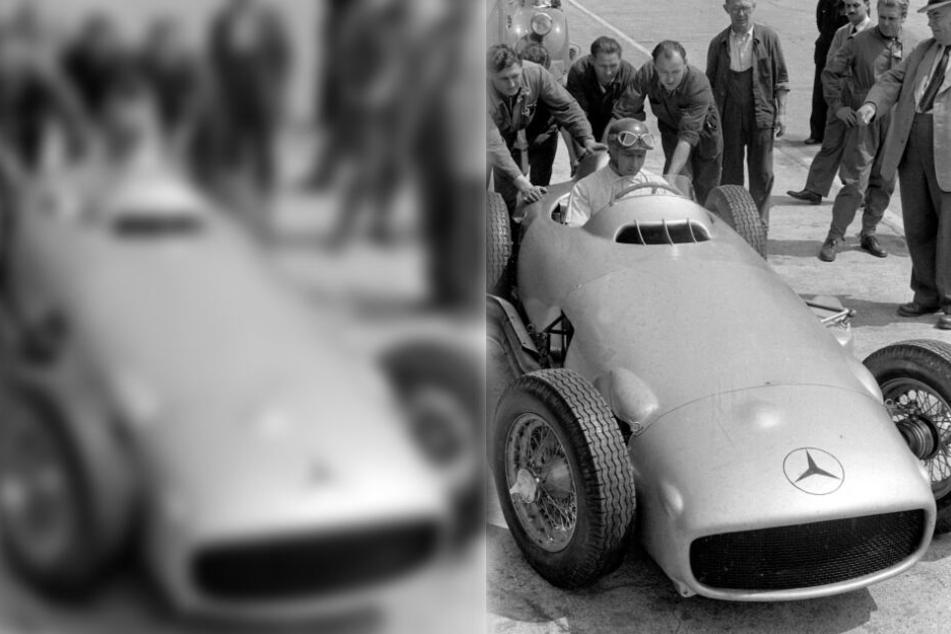 Herrmann war unter anderem Teamkollege des fünffachen Formel 1-Weltmeisters Juan Manuel Fangio (Bild) im Mercedes.