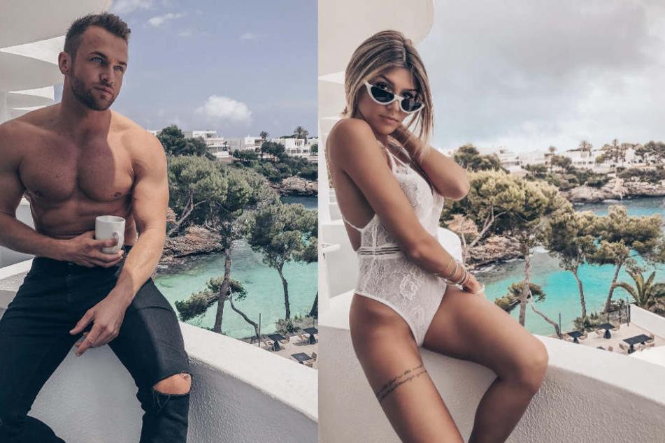 Huch! Urlauben Philipp Stehler (29) und Gerda Lewis (25) etwa gemeinsam auf Mallorca?
