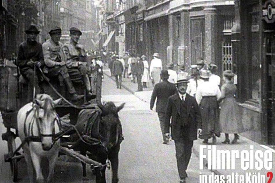 Die Hohe Straße 1921.