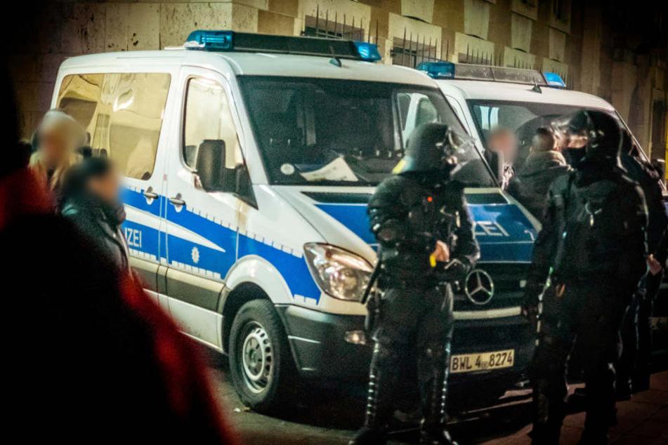 Die Polizei wird überall richtig präsent sein.