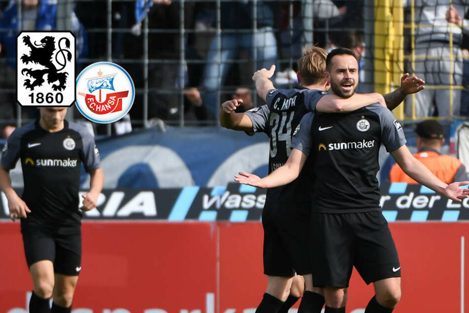 Dramatischer Traditionskracher: Rostock ringt TSV 1860 München nieder!