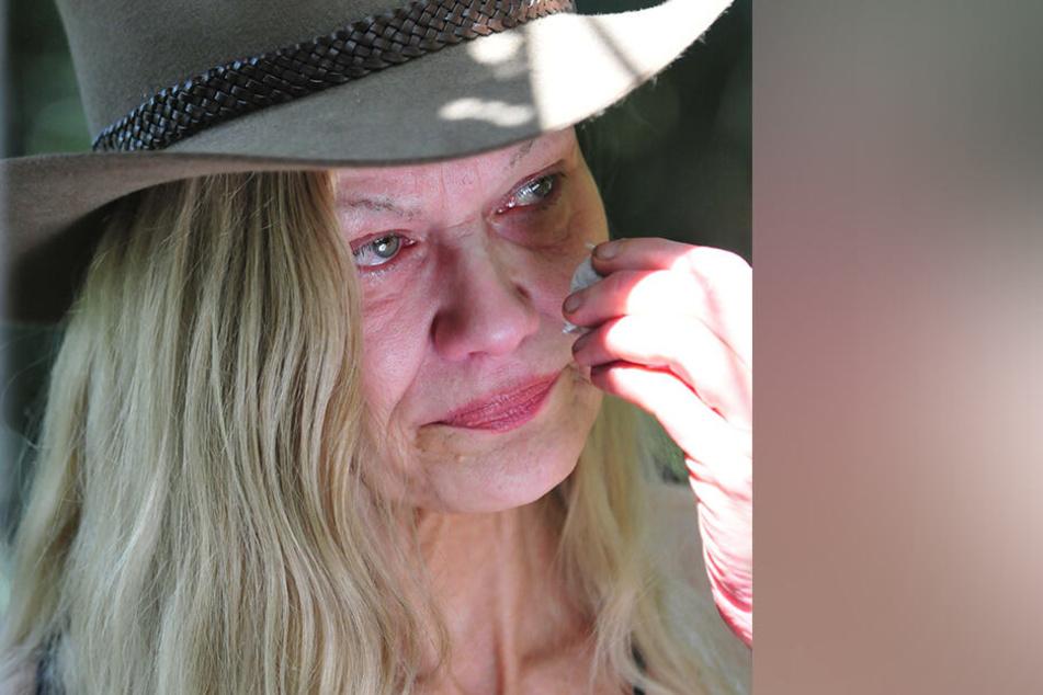 Sibylle Rauch nahm ihr Auszug an Tag neun im Dschungel schwer mit.