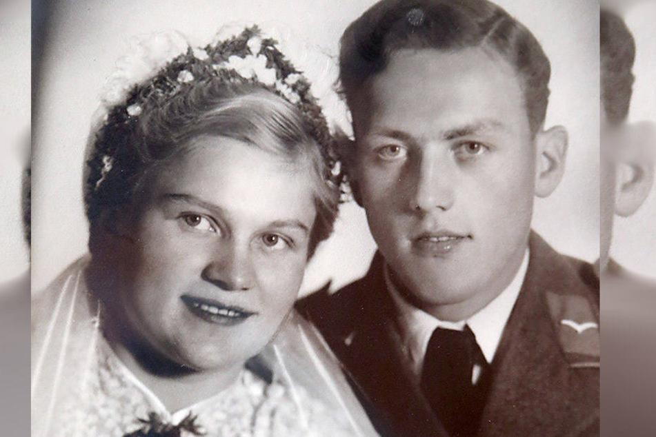 Das Hochzeitsfoto von 1941.