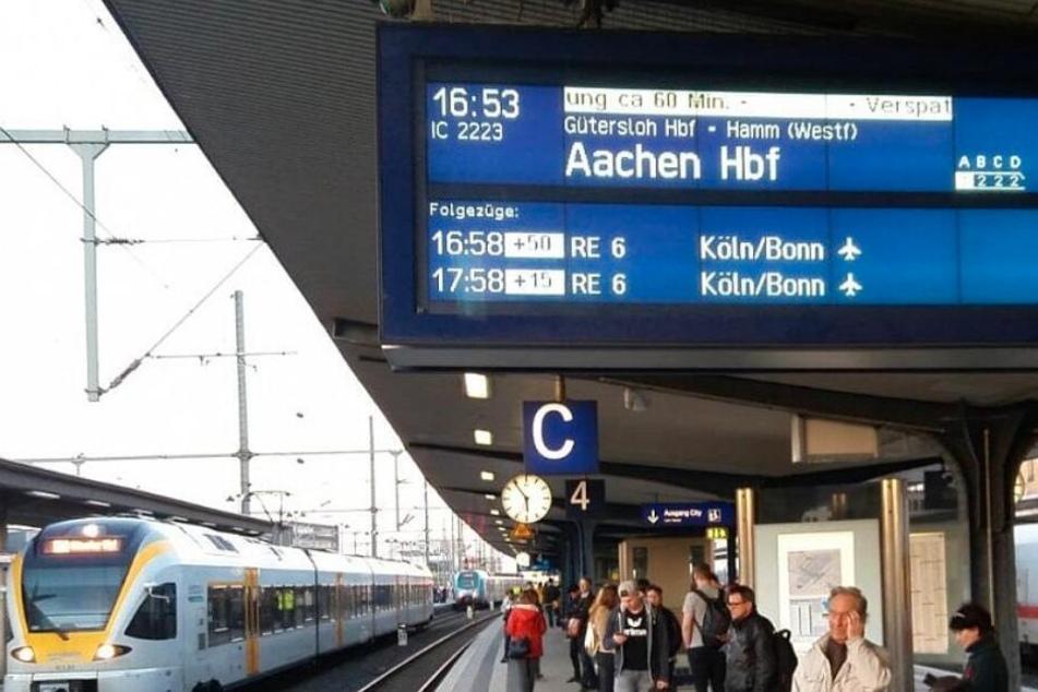 Mit langen Verspätungen müssen Zugreisende rechnen.
