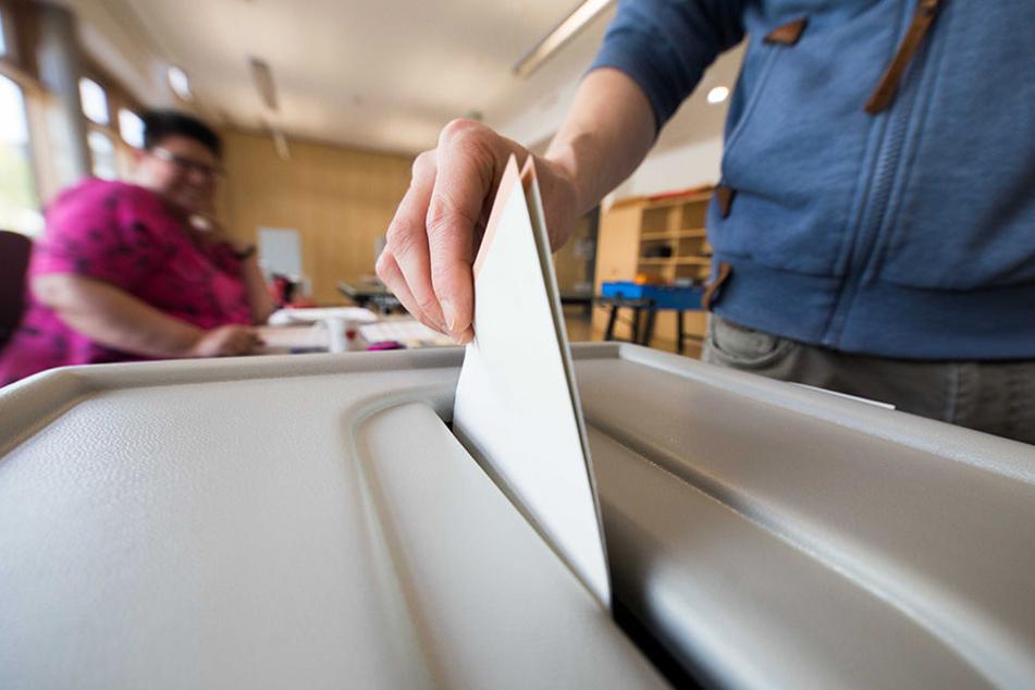 Fast 90.000 Leipziger hatten in diesem Jahr per Briefwahl gewählt. Knapp 360.000 Messestädter wurden zur Wahlurne gebeten.