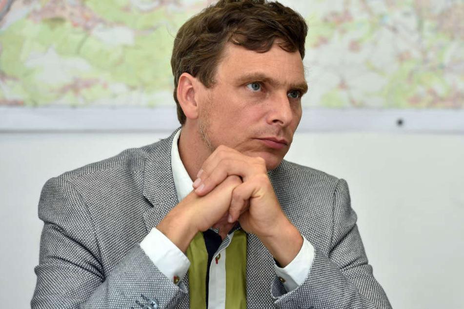 Grüne-Chef Thomas Löser (45) schrieb einen offenen Brief an den Eigentümer.