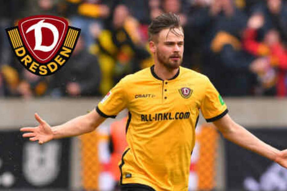 Dynamo-Stürmer Röser steigt freiwillig ab: Er wechselt in die Dritte Liga!