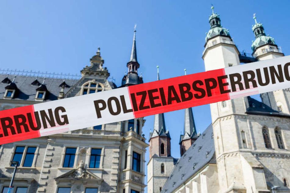 In Halle an der Saale ist in der Nacht zu Donnerstag ein 14 Jahre alter Junge bei einer Messerstecherei schwer verletzt worden. (Fotomontage)