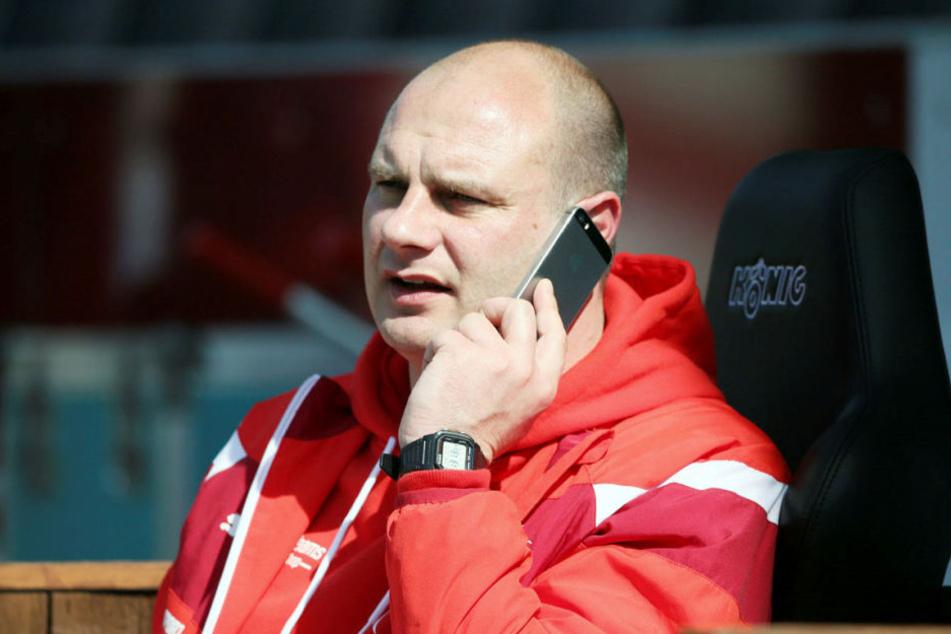 FSV-Sportdirektor David Wagner  spricht in bei TAG24 über die Planung für die neue Saison.
