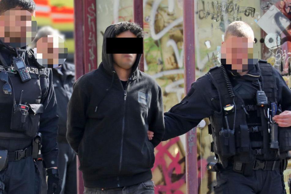 Der Tunesier wurde am Güterbahnhof von der Polizei verhaftet.