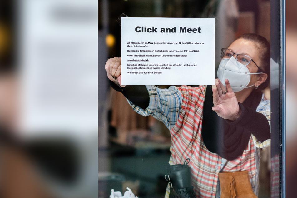 """""""Click & Meet"""" - Einkaufen mit Termin - ist auch im """"BLOB Fashion Store"""" in der Börnichsgasse wieder erlaubt."""