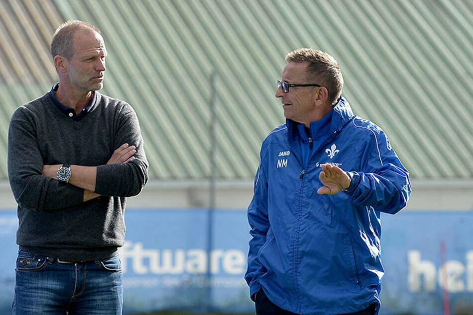 Holger Fach und Norbert Meier führen die Geschicke in Darmstadt.