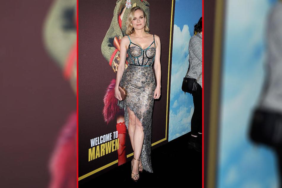 Was für ein atemberaubender Auftritt! Vier Wochen nach der Geburt ihrer Tochter zeigte Diane Kruger (42) auf dem roten Teppich in Los Angeles viel Haut - als wäre nie etwas gewesen.