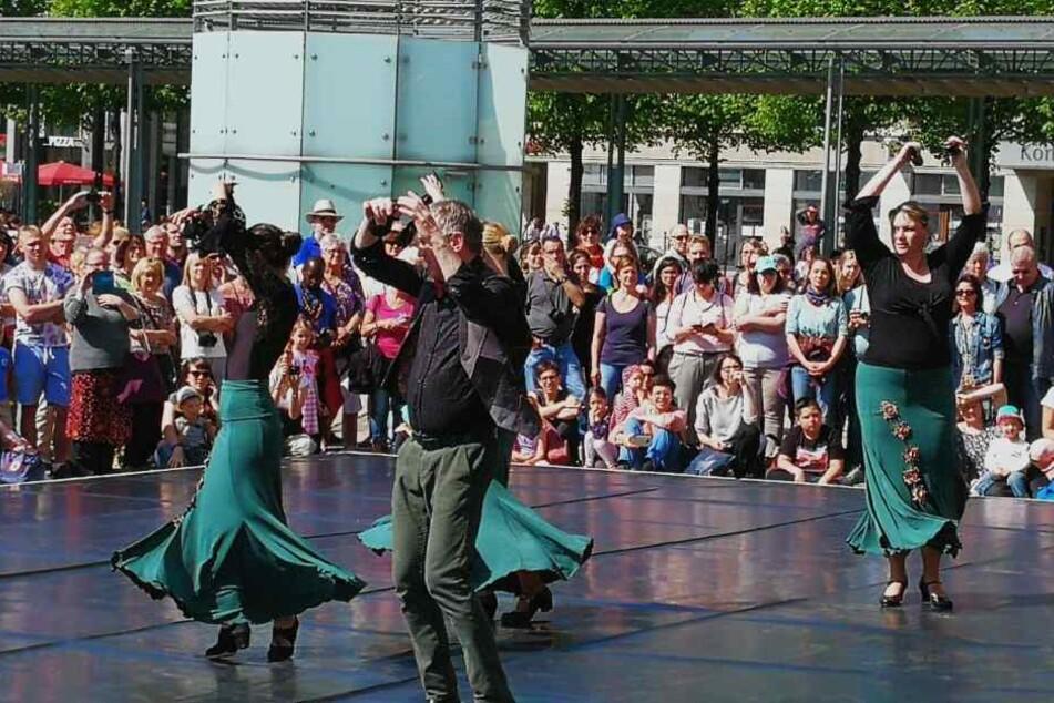 """Tolle Klänge! Flamenco von der Gruppierung """"Varadanza""""."""