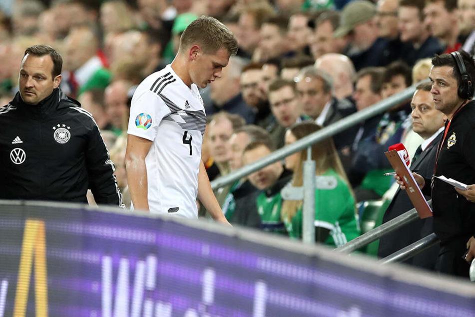 Aufgrund von einer Schulterverletzung wird Matthias Ginter die Länderspiele gegen Argentinien und Estland wohl nicht bestreiten können.