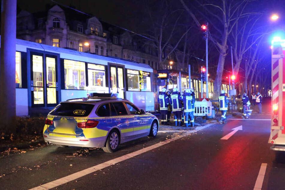 Der Unfall ereignete sich in Höhe der Haltestelle Arnulfstraße.