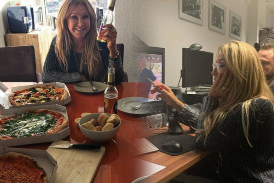 Die Geissens: Carmen Geiss hat in Köln viel zu tun: Arbeits-Besuch mit Pizza und Kölsch
