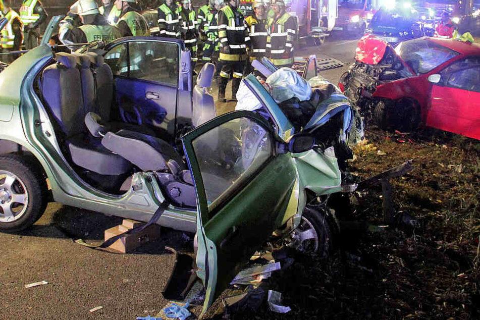 In Bayern ist es im Jahr 2018 zu schweren Verkehrsunfällen gekommen. (Archivbild)