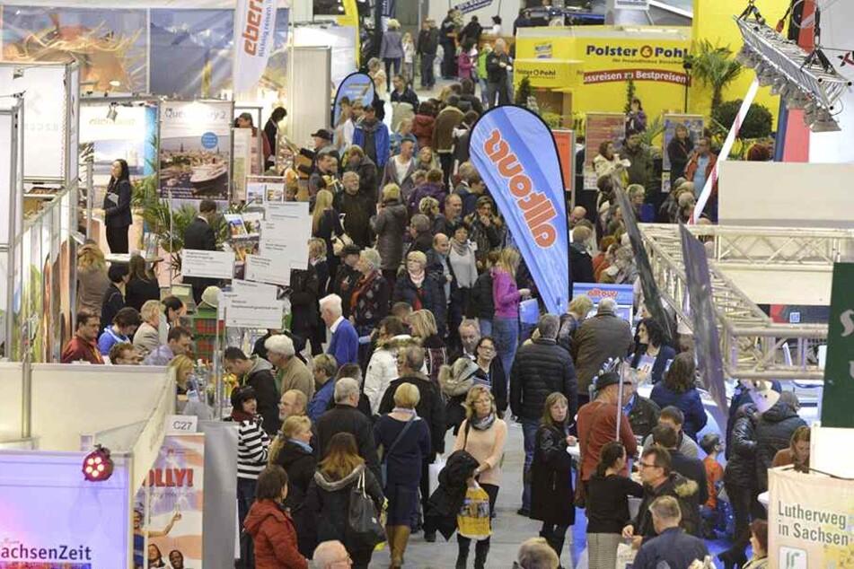 """Im Vorjahr kamen rund 10.000 Besucher zum Messe-Doppel """"Caravaning und Reisen"""" sowie der """"c-fit""""."""