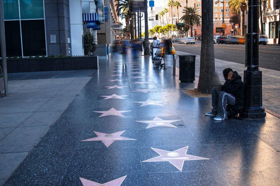 Der berühmte Walk of Fame in Hollywood, Los Angeles zieht jährlich tausende Besucher an.