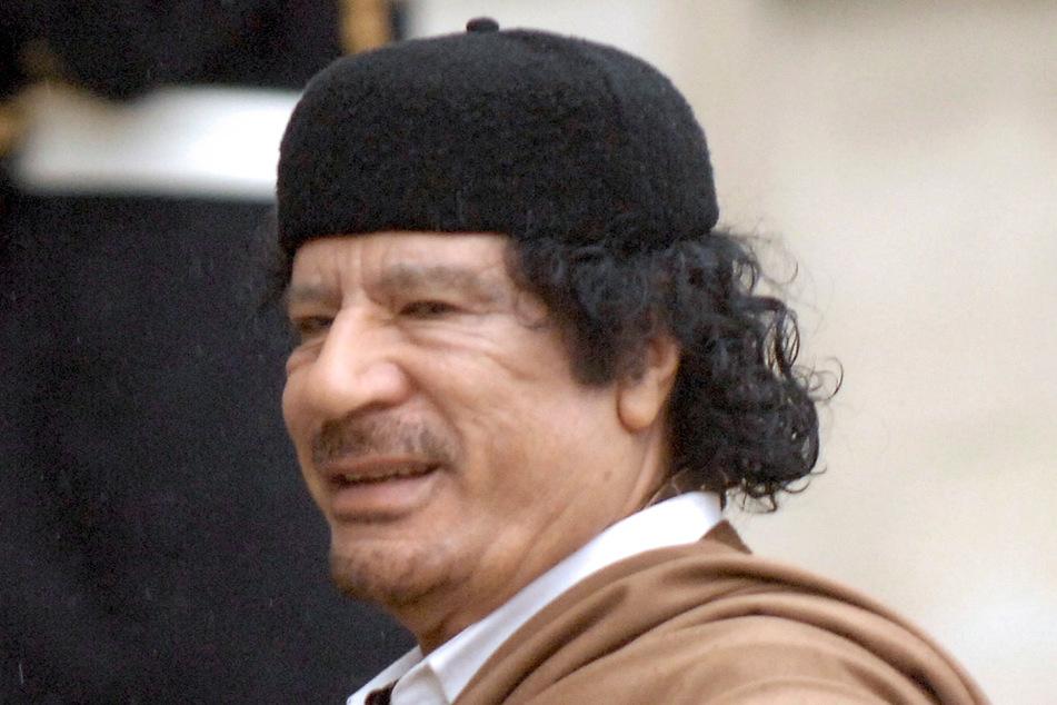 Der frühere libysche Diktator Muammar al-Gaddafi war von 1979 bis zu seinem Tod 2011 an der Macht.