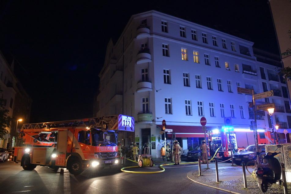In einem Restaurant in Berlin-Mitte hat es am Mittwochmorgen gebrannt.