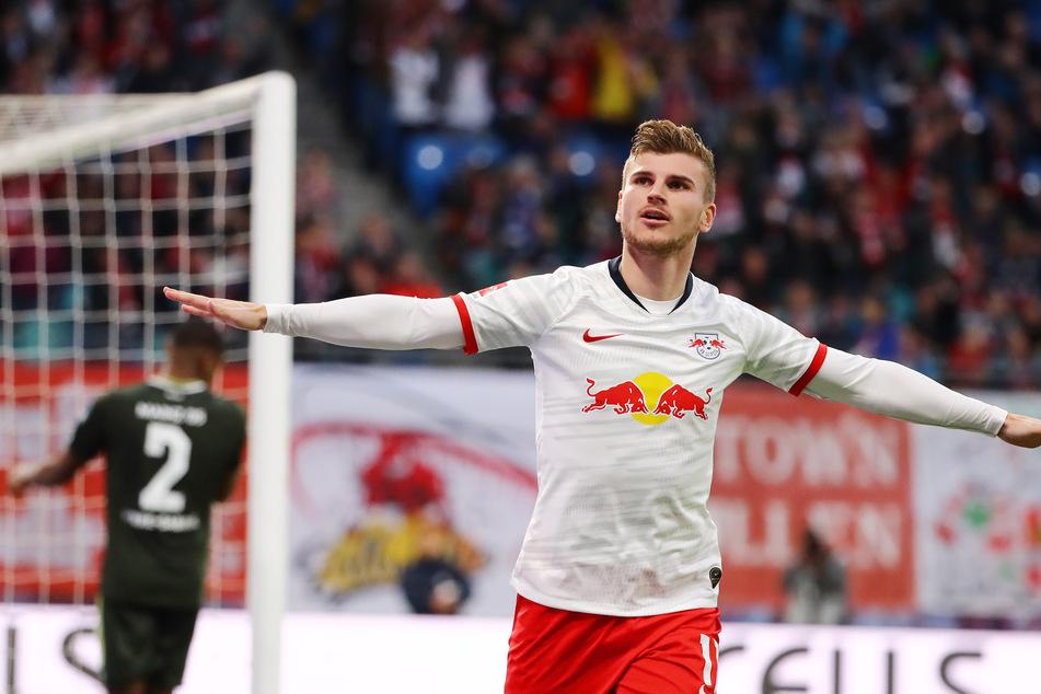In der Hinrunde konnte Timo Werner gegen den FSV Mainz 05 punkten.